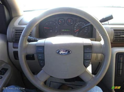 Interior Home Color 2004 Ford Freestar Sel Pebble Beige Steering Wheel Photo
