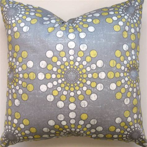 gray yellow pillows grey and yellow pillow cover gray and yellow pillow cover