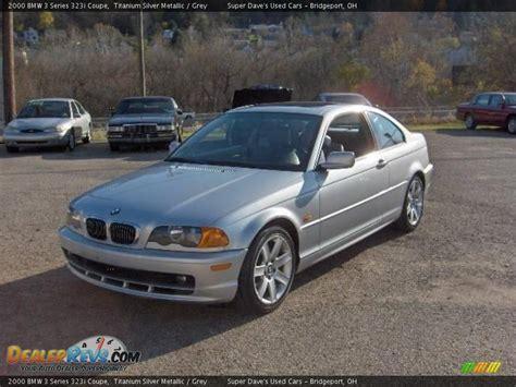 2000 bmw 3 series 323i 2000 bmw 3 series 323i coupe titanium silver metallic