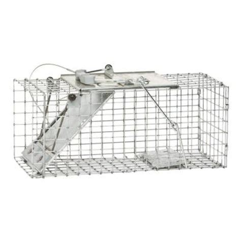 havahart small easy set live animal cage trap 1083 the