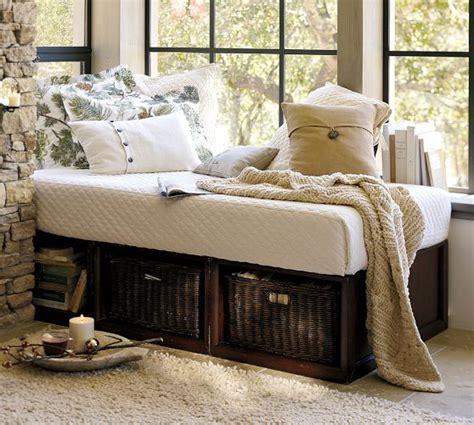 daybed with baskets stratton storage daybed with baskets