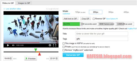 membuat video youtube cara membuat gif dari video youtube