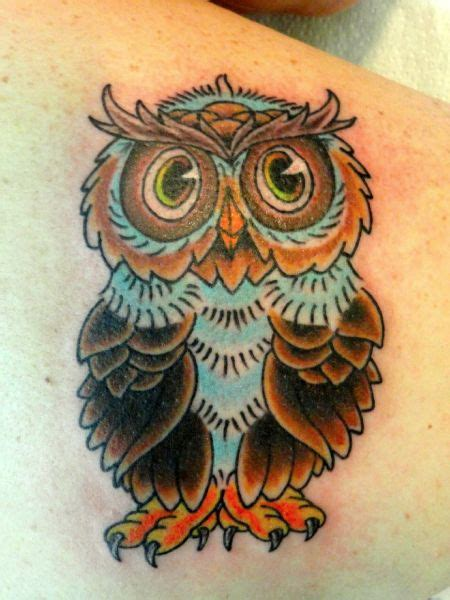 owl tattoo american traditional traditional owl tattoo from mike culley at cheyenne