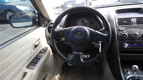 lexus is300 interior 2001 lexus is300 white stock l013716 interior