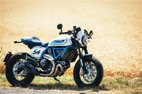 ducati scrambler cafe racer  motosiklet sitesi