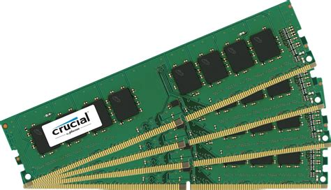 Memory Ram Ddr4 Corsair Vengeance Lpx Cmk4gx41a2400c14r 1x4gb crucial 16gb 4x4gb channel ddr4 2400mhz pc4 19200 udimm ct4k4g4dfs824a ccl computers