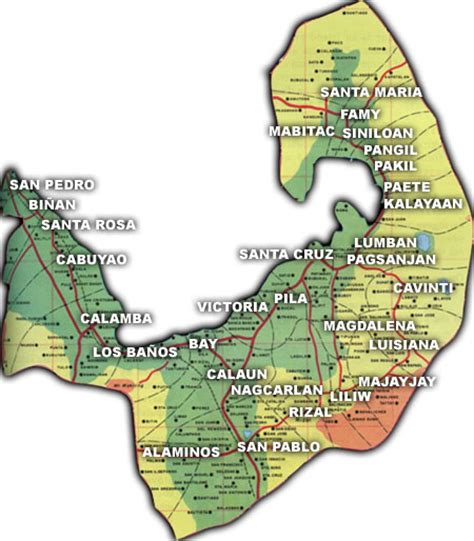 san jose binan laguna map laguna resort philippines