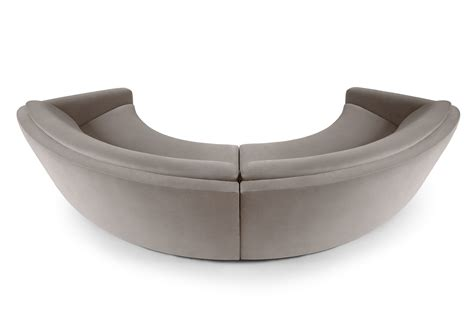 rounded couches round sofa ferdinand by munna