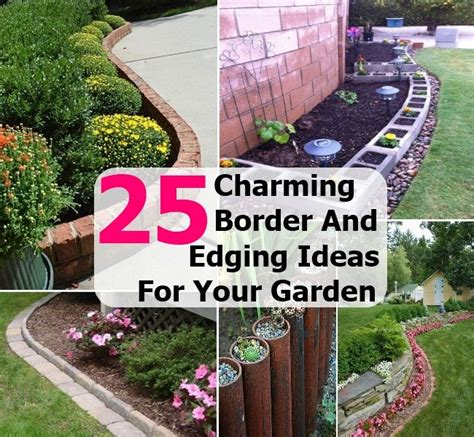 flower bed borders ideas flower bed borders ideas