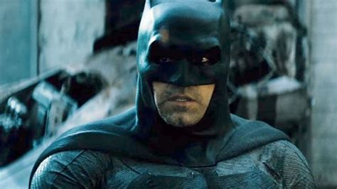 justice league film rumours ben affleck denies rumors he is turning in batman cape