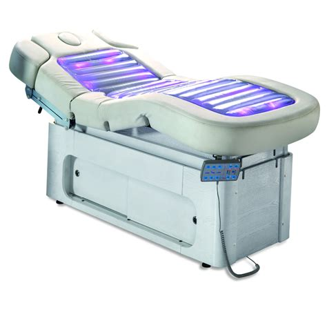electric massage bed good price water massage bed with heating and led ligh