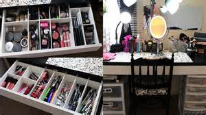 makeup collection storage vanity tour 2013
