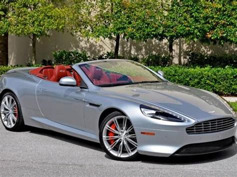 Aston Martin Db9 Volante Red Mitula Cars