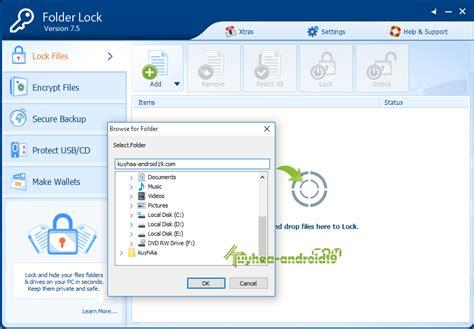 aplikasi folder lock full version folder lock 7 6 2 final full serial kuyhaa me