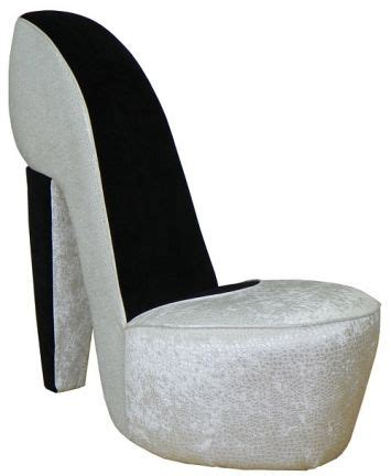 high heel shoe furniture chair excitement pearl high heel shoe chair cave