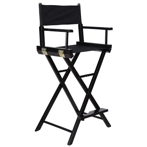 Foldable Makeup Chair by Equipment Makeup Chair Foldable Wood Professional Black