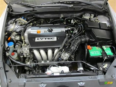 2003 Honda Accord Engine by 2003 Honda Accord Lx Sedan 2 4 Liter Dohc 16 Valve I Vtec