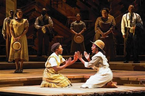 color purple musical on broadway has a moving