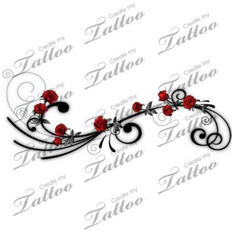 vine of roses tattoo pictures of vines with roses be a vine side