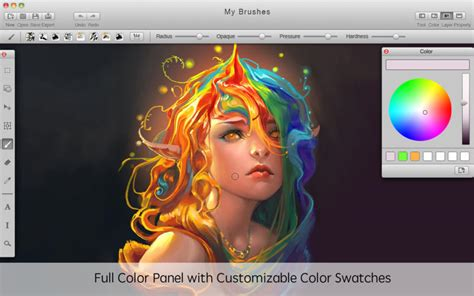 paint tool sai mac mybrushes paint draw sketch on the mac app store
