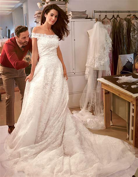 hochzeitskleid amal clooney amal s wedding gown gbcn