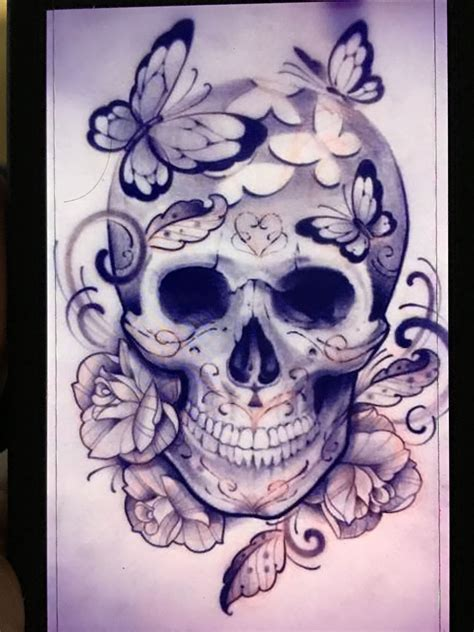 skull flowers tattoo designs pin by amylyn besse on tattoos