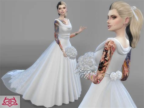 Dress Big Salur Cc 59 best images about ts4 clothing wedding dress on posts the sims and sims 4