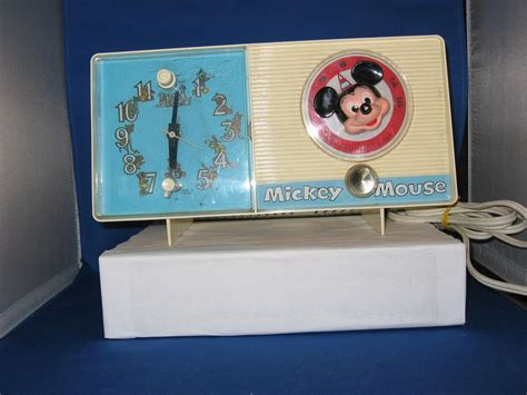 vintage 1960 s mickey mouse radio and alarm clock from big on ruby