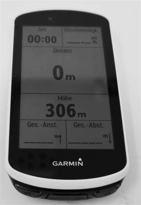 garmin edge  testbericht nach  wochen nutzung im winter