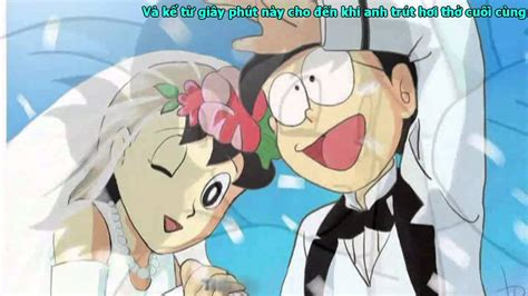 Nobita Maxy doremon beautiful in white sub eng viet