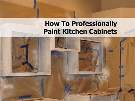 how to professionally paint kitchen cabinets how to professionally paint kitchen cabinets