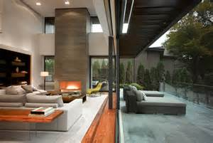 indoor outdoor spaces stunning toronto home with an arty staircase and a comfy office modern house designs