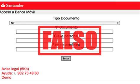 buscador fondos banco santander alertan de una ca 241 a de fraude online que suplanta al
