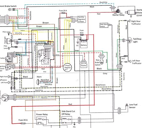 1999 yamaha venture wiring diagram yamaha v 650
