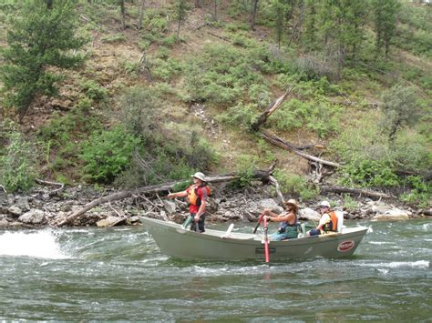 drift boat salmon river drift boat fishing the middle fork salmon river in idaho