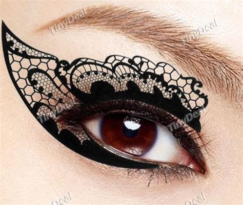 New Eyeliner Tempel Eyeliner Sticker Sticker Eyeliner Eyeliner new lace instant eyeshadow sticker