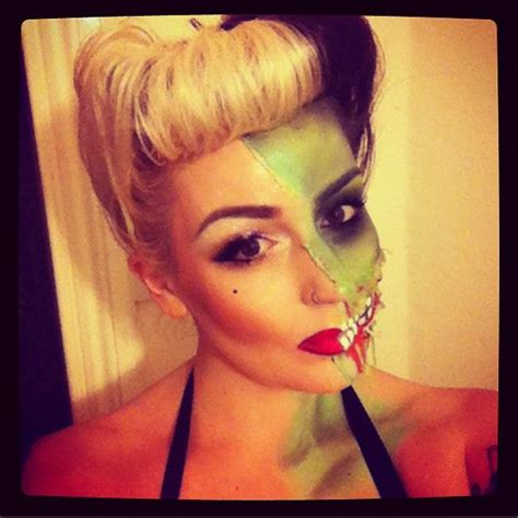 cute girl hairstyles zombie halloween pin up zombie such a cute idea halloween