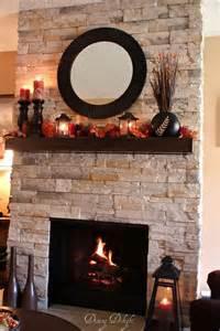 best 25 fall fireplace mantel ideas on