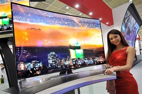 Tv Samsung Layar Cekung Hitting The Tv Terrain Lg 55 Incher Oled Device Could Lure You