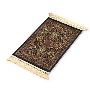 verona collection black accent rug bed bath beyond
