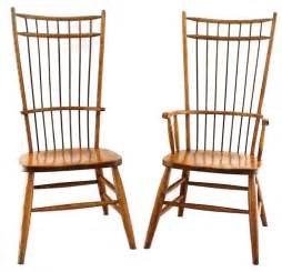 Windsor Dining Room Chairs by Solid Wood Windsor Dining Room Chair Cage Back