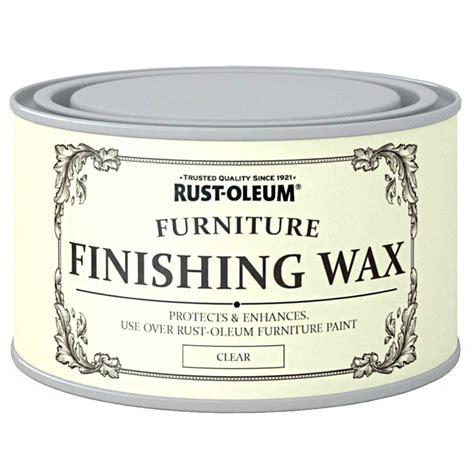 rust oleum clear finishing wood furniture wax polish