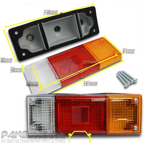 mazda bt    pair tray  tail light assembly replacement lamp lhrh aftermarket
