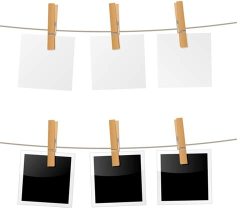 hanging picture hanging photo vector free vector in encapsulated