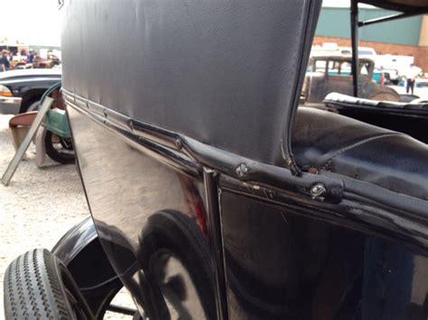 rear curtain model t ford forum top rear curtain metal strip