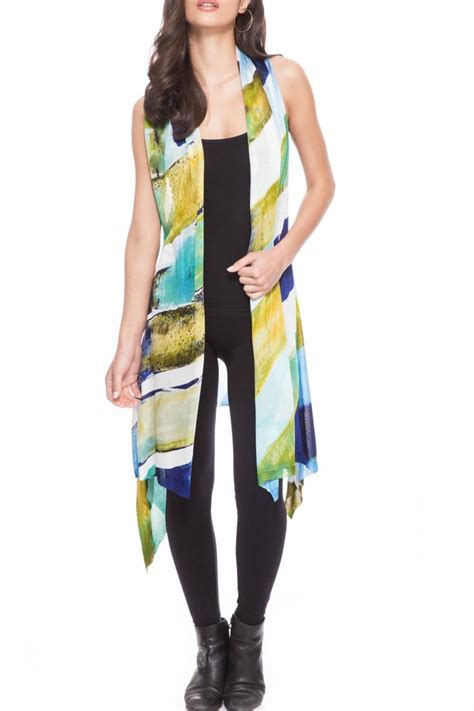 Adore Vest adore painted vest from cambria by new moon shoptiques