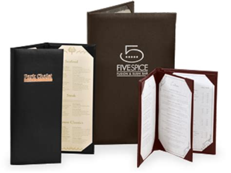 restaurant table top covers menu covers restaurant menu covers the menu shoppe