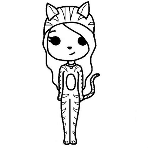 instagram chibi coloring pages instagram chibi girl drawing sketch coloring page