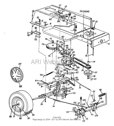 yard machine lawn mower belt diagram yard machine drive belt diagram car interior design