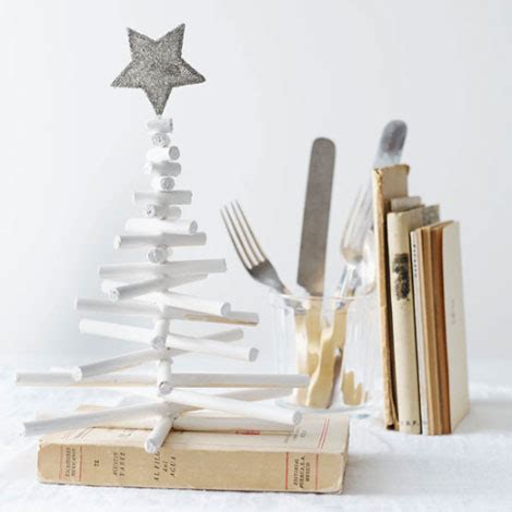 simple diy miniature christmas tree